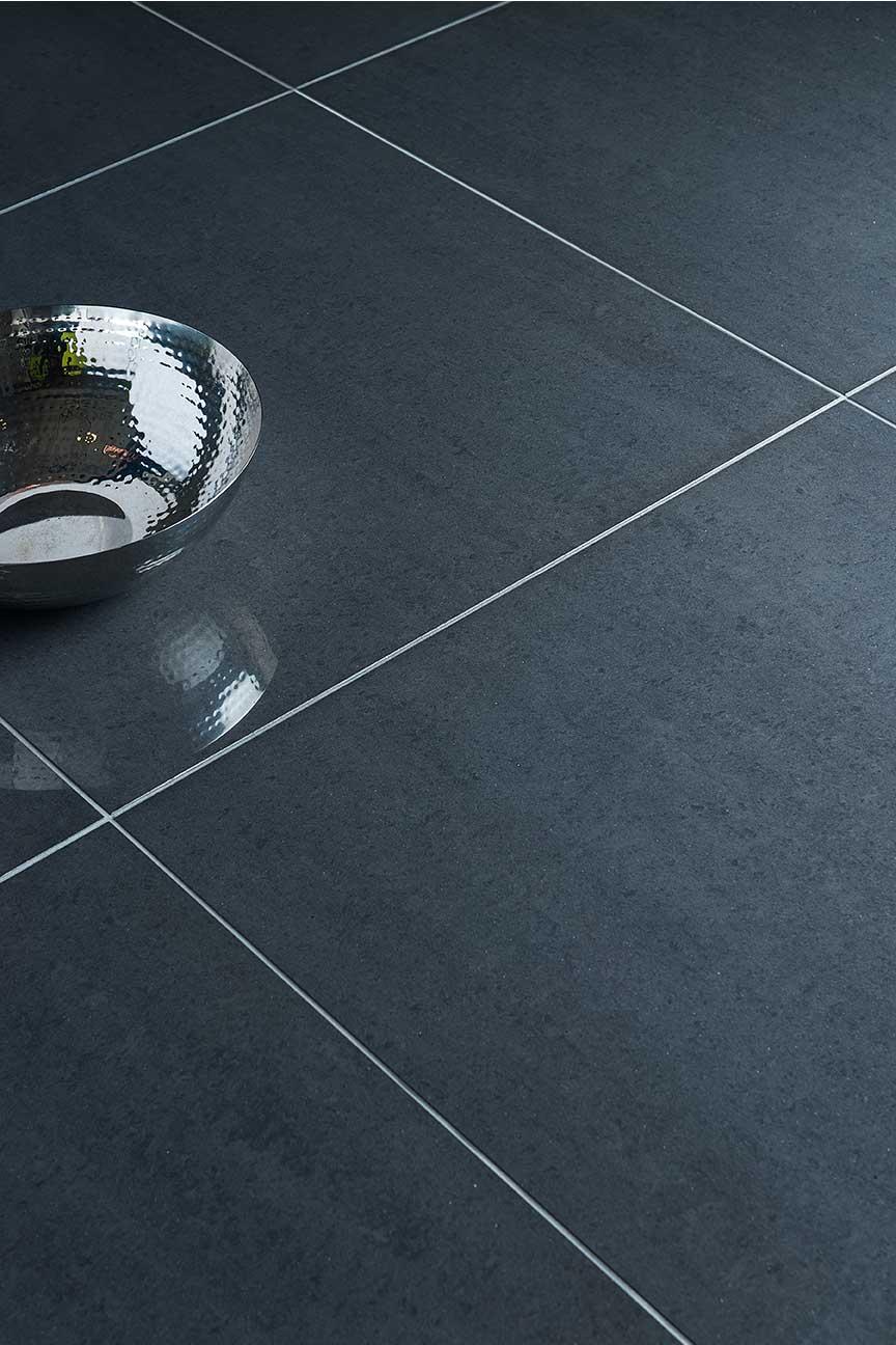 Tamarin Charcoal Polished 60x60 Floor & Wall Tile pany