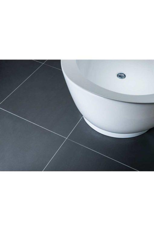 Tamarin Charcoal porcelain tiles 60cm x 60cm
