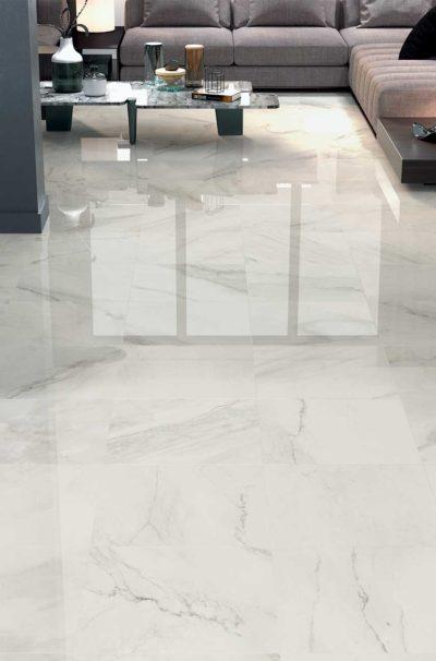 1 Metre x 1 Metre Range 1811 Blanco Porcelain Tiles